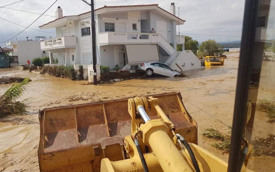 Κακοκαιρία «Θάλεια» - Εύβοια: Και τέταρτος νεκρός από τις τρομακτικές πλημμύρες