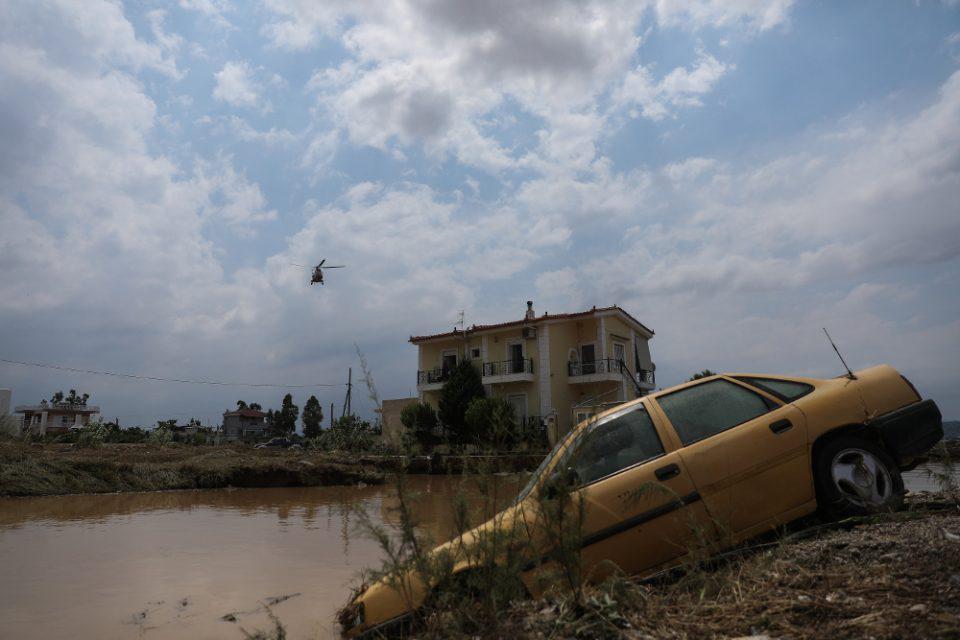 Τραγωδία στην Εύβοια: Τρομακτικές εικόνες από τις καταστροφικές πλημμύρες