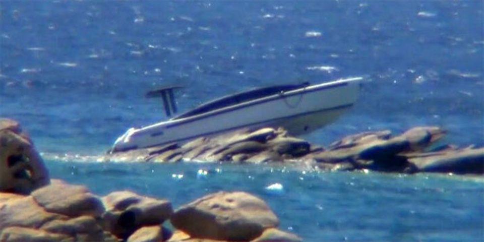 Μύκονος: Θαλάσσιες… περιπέτειες για Αιγύπτιο μεγιστάνα – Το σκάφος του «καρφώθηκε» σε βράχια