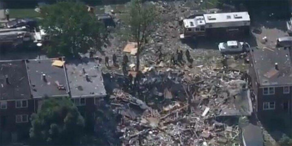 Σκηνές χάους στη Βαλτιμόρη: Ένας νεκρός από έκρηξη - Ισοπεδώθηκαν σπίτια