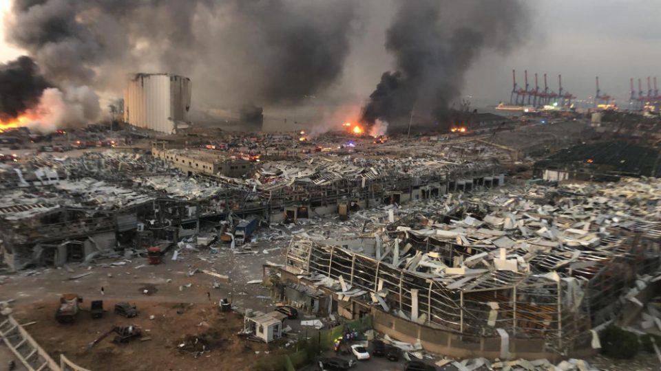 Έκρηξη στη Βηρυτό: Συμμετοχή Μητσοτάκη στην τηλεδιάσκεψη δωρητών