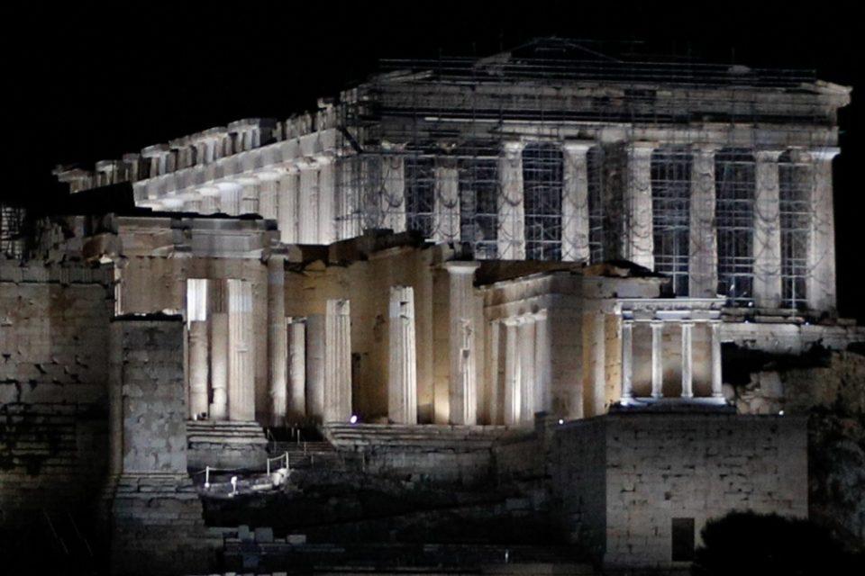 Τρία διεθνή βραβεία για τον νέο φωτισμό της Ακρόπολης