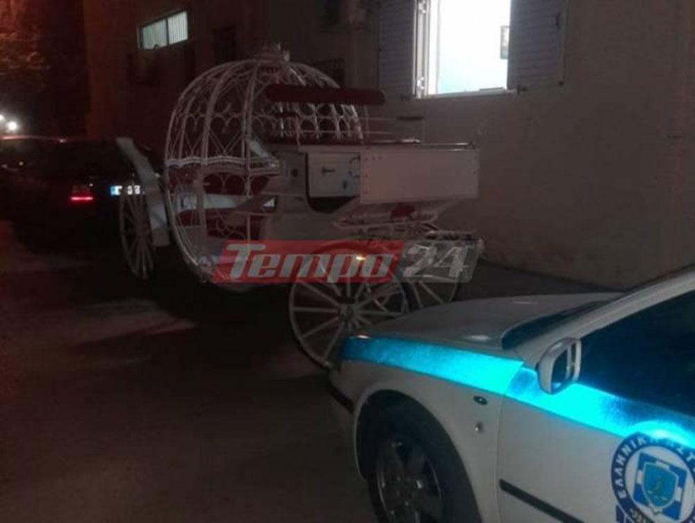 Κορωνοϊός: Ήθελαν να ζήσουν το παραμύθι… – Κατάσχεσαν άμαξα και άλογα για να αποτραπεί γάμος με 1.000 καλεσμένους