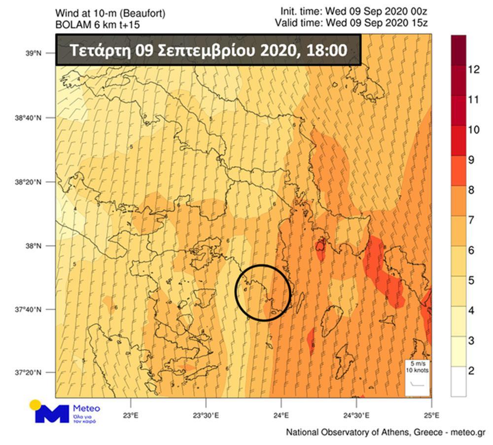 Μέχρι και την Κρήτη φτάνει ο καπνός από τη φωτιά στην Κερατέα – Εικόνα δορυφόρου