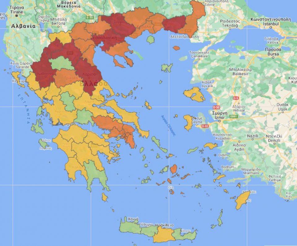 Κορωνοϊός: Σε δύο ζώνες η χώρα - Πού εντάσσονται Αττική, Θεσσαλονίκη