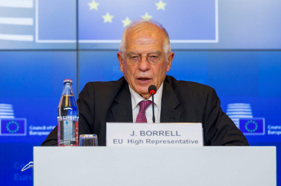 Μπορέλ: Σοβαρή η ανησυχία της ΕΕ για την απόφαση Ερντογάν σχετικά με τα Βαρώσια