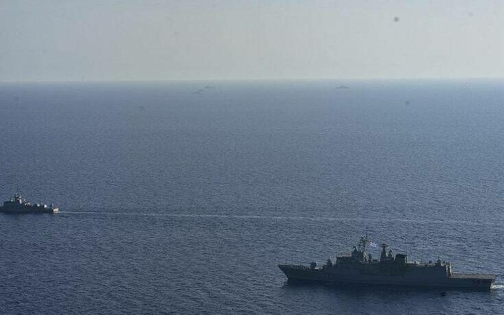 Φωτογραφίες ντοκουμέντο: Σε διάταξη μάχης σε αέρα και θάλασσα οι Ένοπλες Δυνάμεις απέναντι στο Oruc Reis