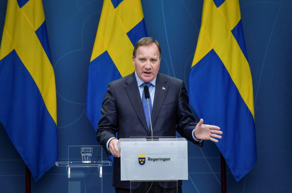 Κορωνοϊός - Δραματικό διάγγελμα Λεβέν: Η Σουηδία δοκιμάζεται από την πανδημία