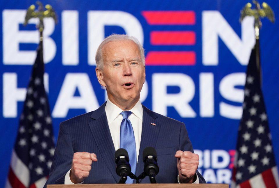 ΗΠΑ-εκλογές: Ο Τζο Μπάιντερ νέος Πρόεδρος στην Αμερική