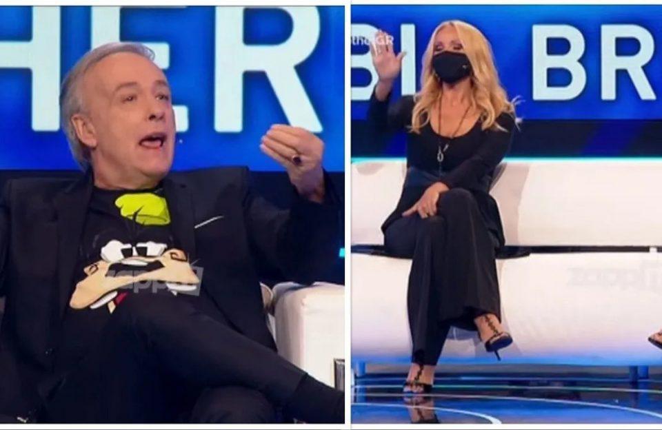 Χαμός στο Big Brother: «Τα πήρε» άσχημα με τον Μικρούτσικο η Νάταλι Κακκαβά στον «αέρα»