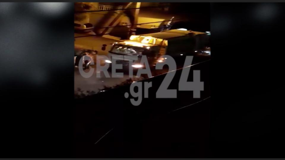 Καρέ καρέ η άγρια επίθεση στους εργαζομένους της καθαριότητας στην Κρήτη