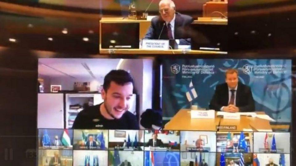 Απίστευτο: Δημοσιογράφος «τρύπωσε» σε τηλεδιάσκεψη των υπ. Άμυνας της ΕΕ