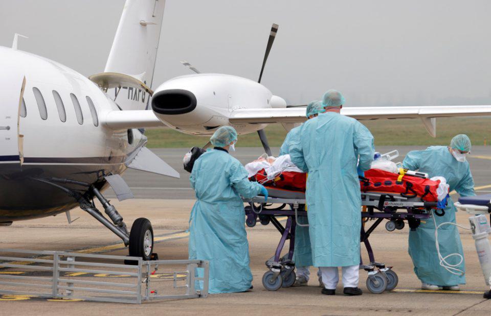 Ασθενείς με κορωνοϊό από την Γαλλία, την Ολλανδία και το Βέλγιο νοσηλεύονται σε γερμανικά νοσοκομεία