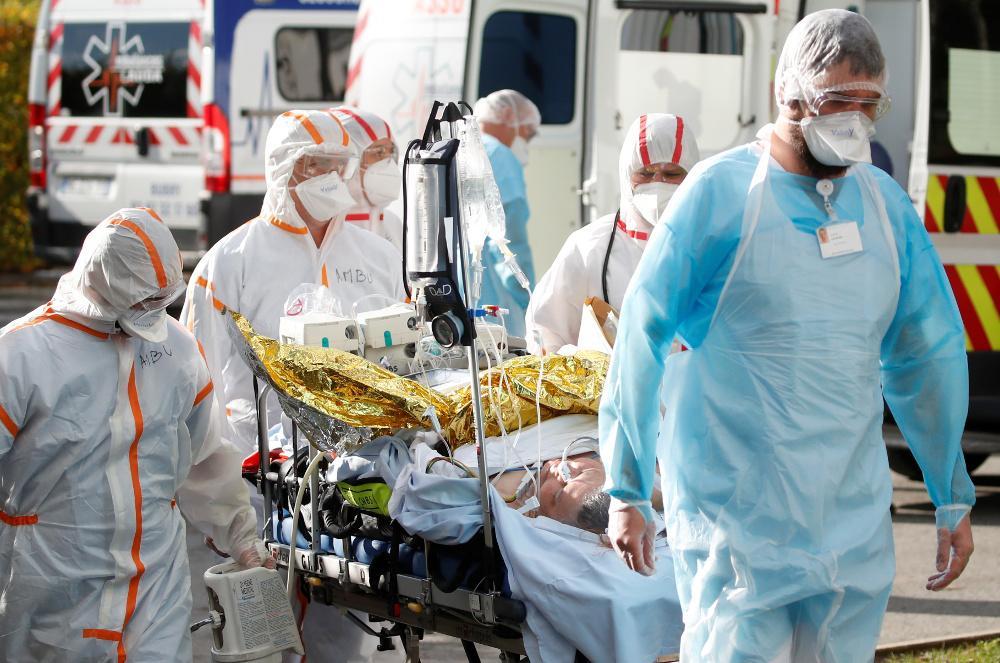 Κορωνοϊός - Γαλλία: Αύξηση των ημερήσιων κρουσμάτων, μείωση των εισαγωγών στο νοσοκομείο
