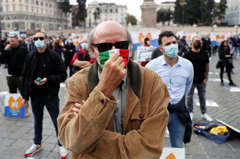 Κορωνοϊός - Ιταλία: 30.550 νέα κρούσματα και 352 νεκροί - Ανησυχία για τους ασθενείς σε ΜΕΘ