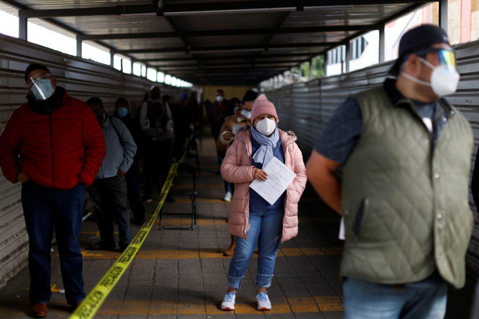 Κορωνοϊός-Μεξικό: Πάνω από 101.900 θάνατοι και σχεδόν 1,05 εκατ. κρούσματα