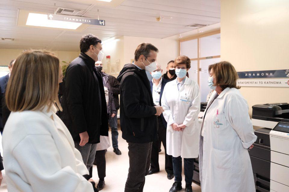 Μητσοτάκης: Η Ελλάδα έσπασε το φράγμα των 500.000 εμβολιασμών κατά του κορωνοϊού