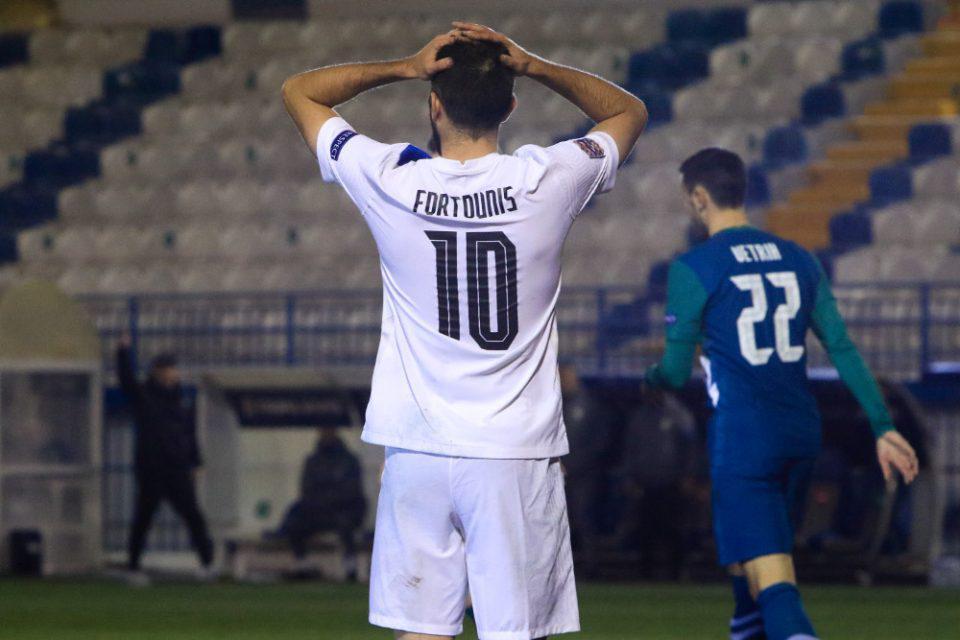 Nations League: Έμεινε στο 0-0 η Εθνική κόντρα στη Σλοβενία και έχασε την άνοδο