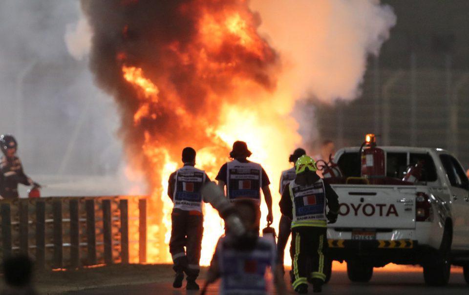 Formula 1 -Ρομέν Γκροζάν: Είδα τον θάνατο να έρχεται