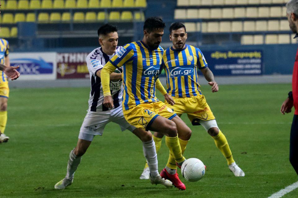 Super League 1: «Απόδραση» του Απόλλωνα από το Αγρίνιο, 1-0 τον Παναιτωλικό