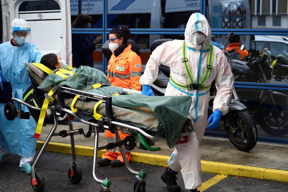 Κορωνοϊός - Ιταλία: 10.800 νέα κρούσματα και 348 θάνατοι το τελευταίο εικοσιτετράωρο