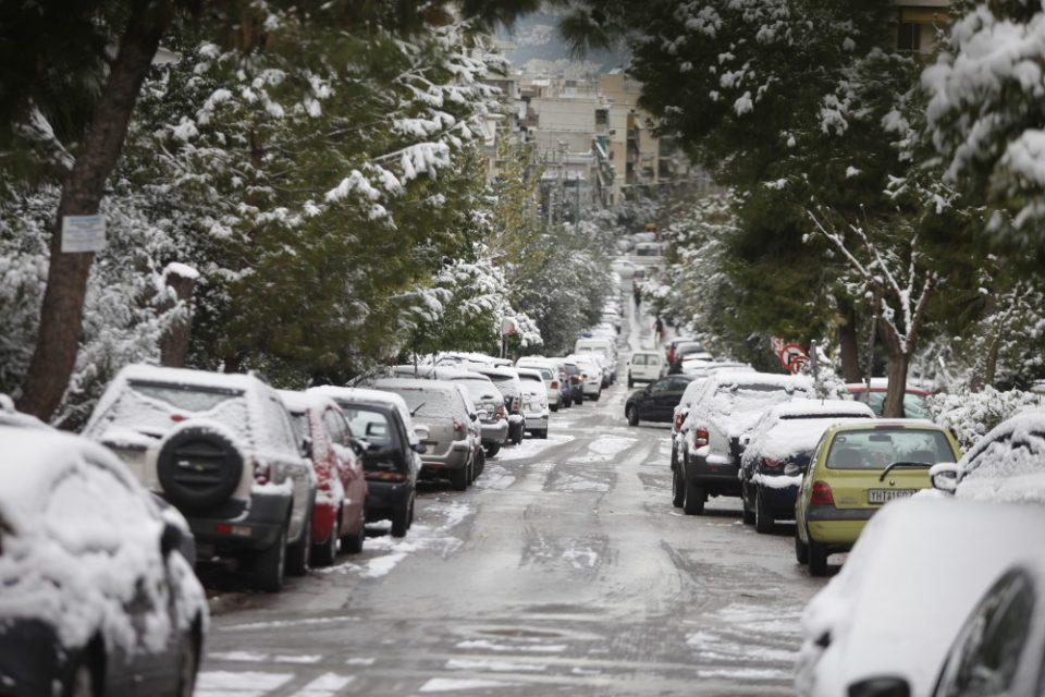 Καιρός - «Μήδεια»: Διακοπές κυκλοφορίας σε Παπάγου και Καισαριανή