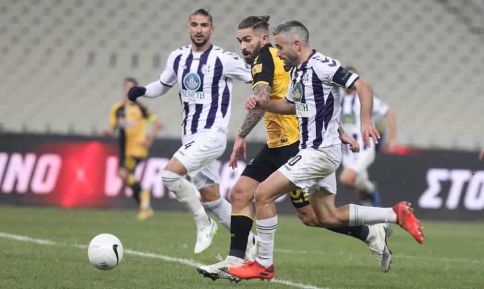 Κύπελλο Ελλάδας: Σκορ πρόκρισης η ΑΕΚ - 2-0 τον Απόλλωνα