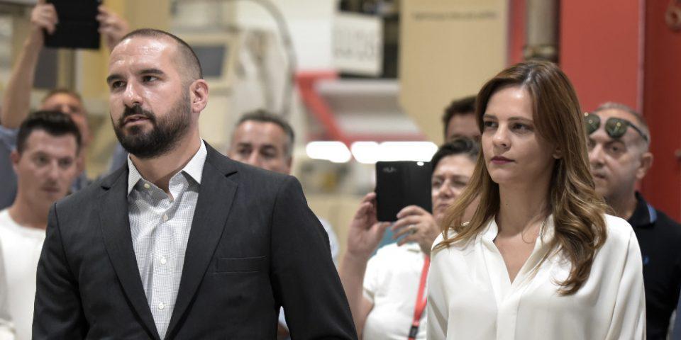 Έγκυος η Εφη Αχτσιόγλου - Πατέρας για πρώτη φορά ο Δημήτρης Τζανακόπουλος