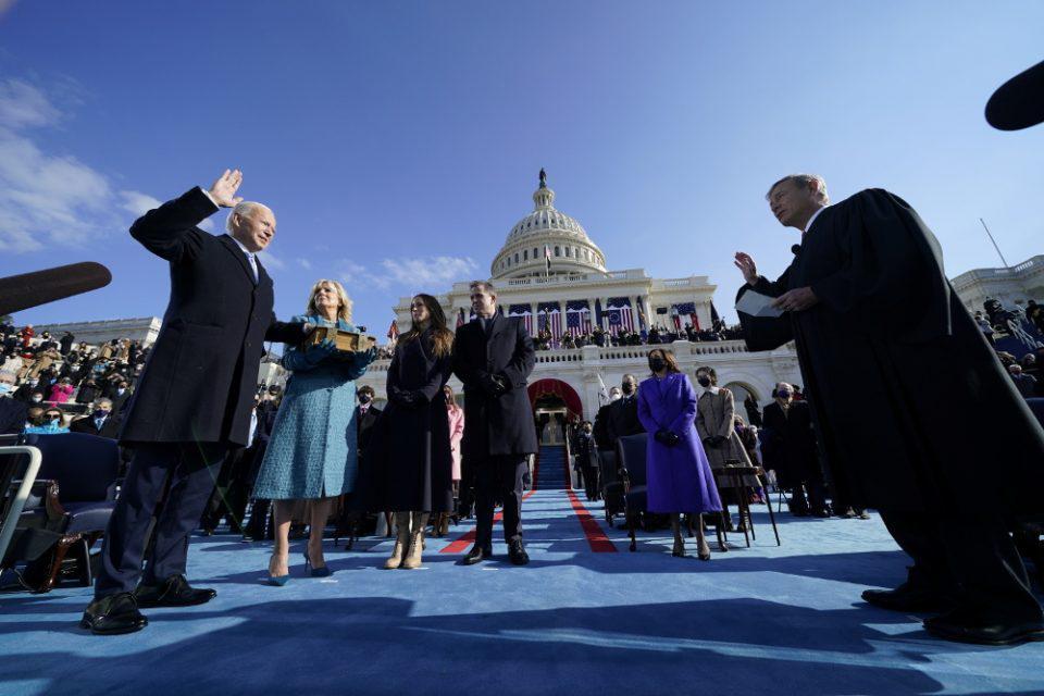 Μήνυμα ενότητας και δημοκρατίας από τον νέο Πρόεδρο Τζο Μπάιντεν