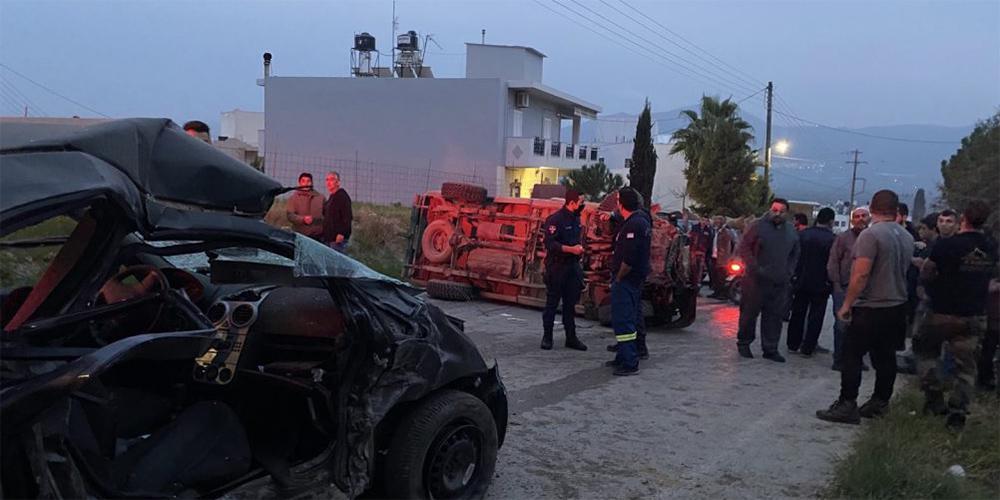 Θρήνος στην Κρήτη για τον θάνατο της 38χρονης μητέρας και της δίχρονης κόρης της