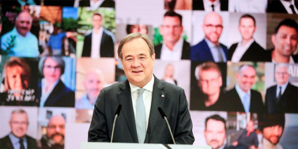 Γερμανία - FAZ: «Νίκη του απαξιωμένου κατεστημένου» η εκλογή Λάσετ και το αύριο του CDU