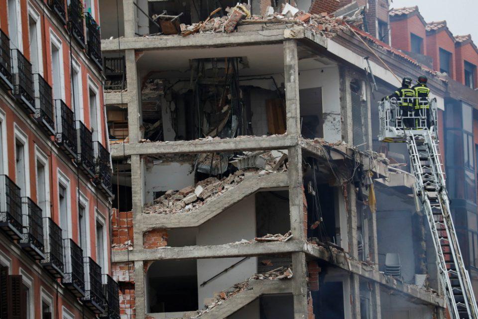 Έκρηξη στην Μαδρίτη: Τουλάχιστον δύο νεκροί - Συγκλονιστικές εικόνες