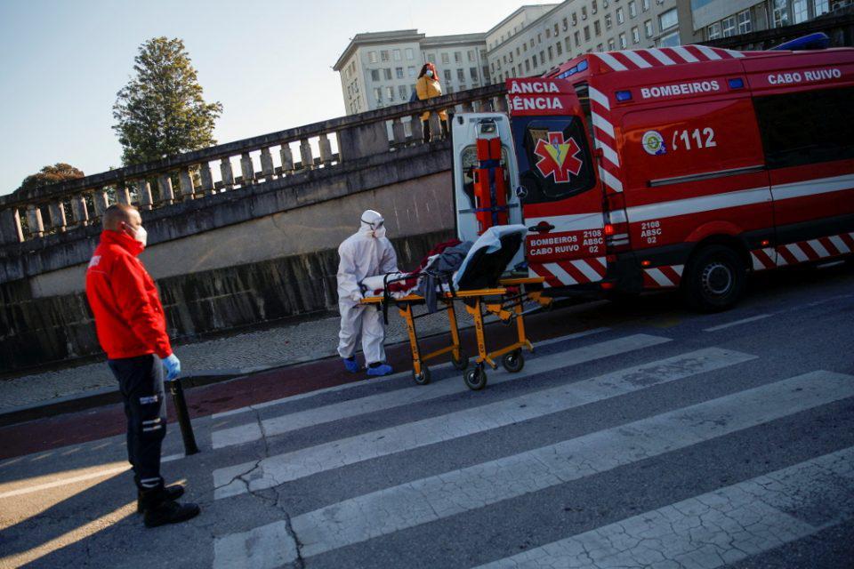 Κορωνοϊός - Σοκ στην Πορτογαλία: Έσπασε το ρεκόρ θανάτων και κρουσμάτων
