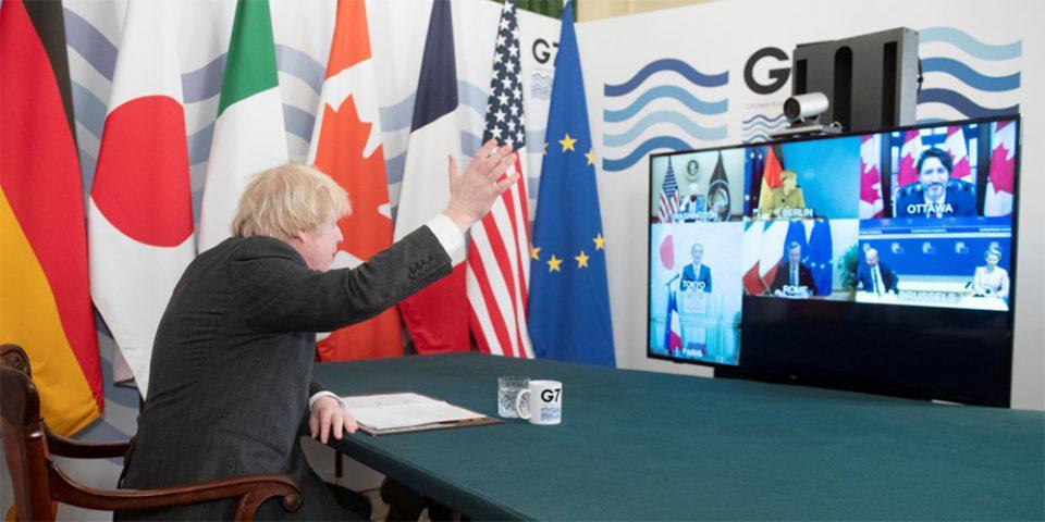 «Μας ακούς, Άνγκελα;»: Το επικό… ατύχημα της Μέρκελ στην τηλεδιάσκεψη της G7 [βίντεο]