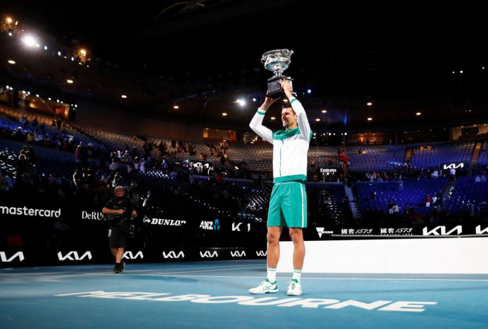 Βασιλιάς ο Τζόκοβιτς στο Australian Open