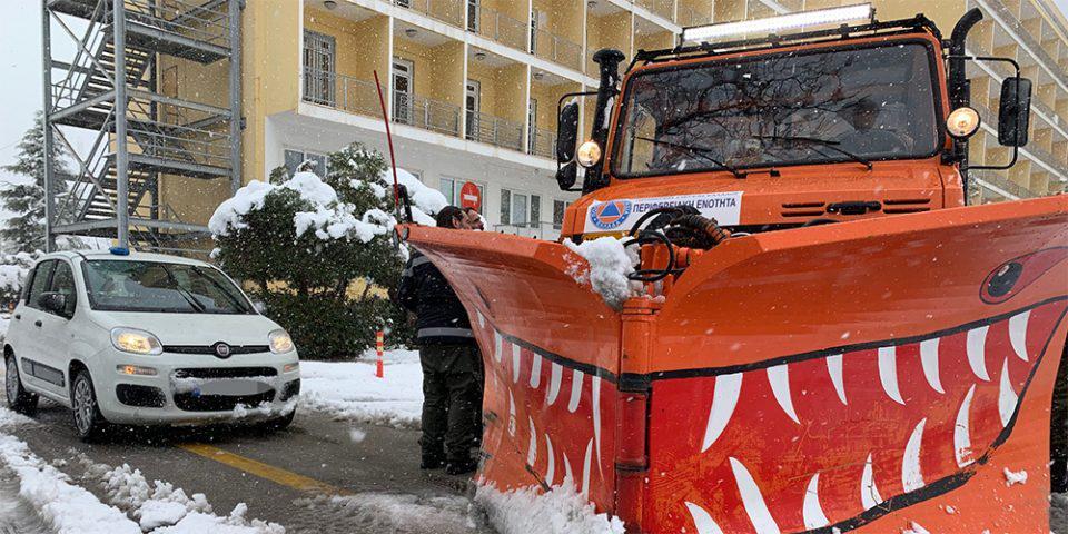 Καιρός - «Μήδεια»: Σε όλους τους δρόμους της Αθήνας 37 μηχανήματα του Δήμου