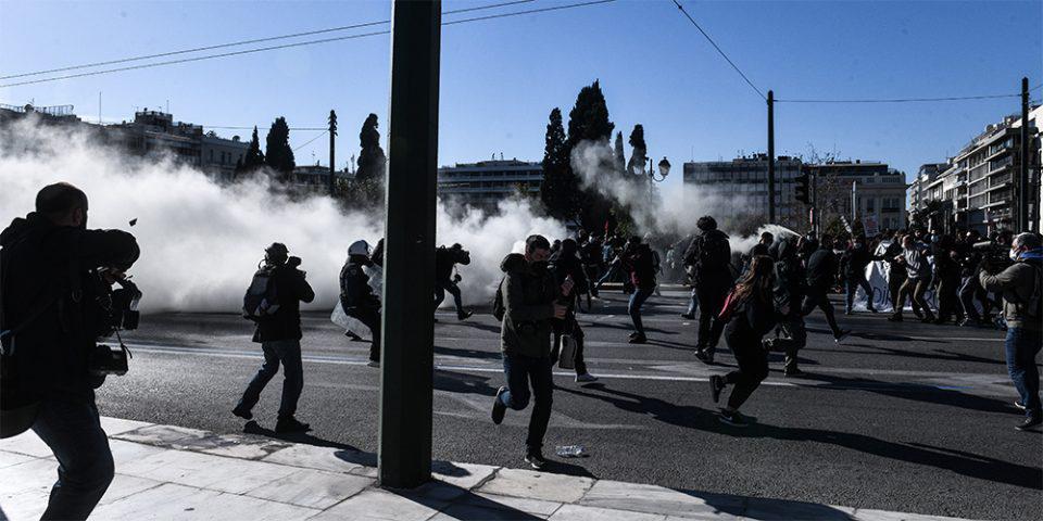 Τι λέει η ΕΛ.ΑΣ. για τα επεισόδια στο πανεκπαιδευτικό συλλαλητήριο