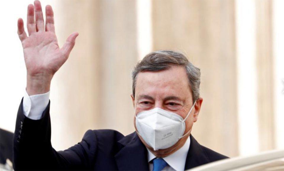 Ιταλία: Με ευρεία κοινοβουλευτική πλειοψηφία ο Μάριο Ντράγκι αναλαμβάνει πρωθυπουργός