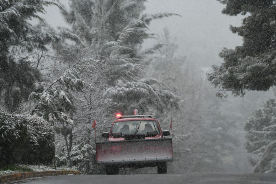 Κακοκαιρία «Μήδεια»: Προβλήματα στο οδικό δίκτυο Αχαΐας, Αιτωλοακαρνανίας και Κορινθίας
