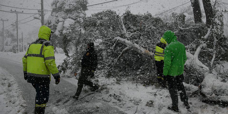 Κακοκαιρία Μήδεια: Χωρίς ρεύμα πολλές περιοχές της Αττικής και της Εύβοιας - Πότε θα αποκατασταθεί η ηλεκτροδότηση