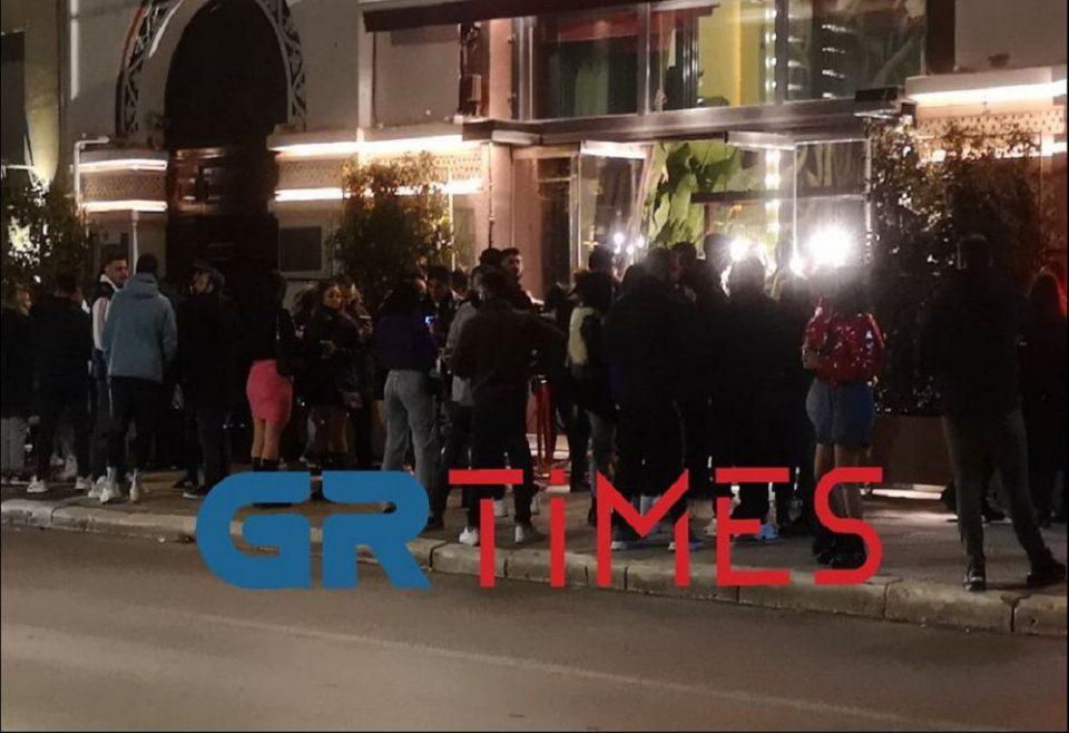 Θεσσαλονίκη: Επέμβαση της αστυνομίας σε καφέ-μπαρ για συνωστισμό