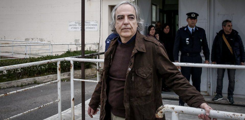 Γύρισε στις φυλακές Δομοκού ο Δημήτρης Κουφοντίνας