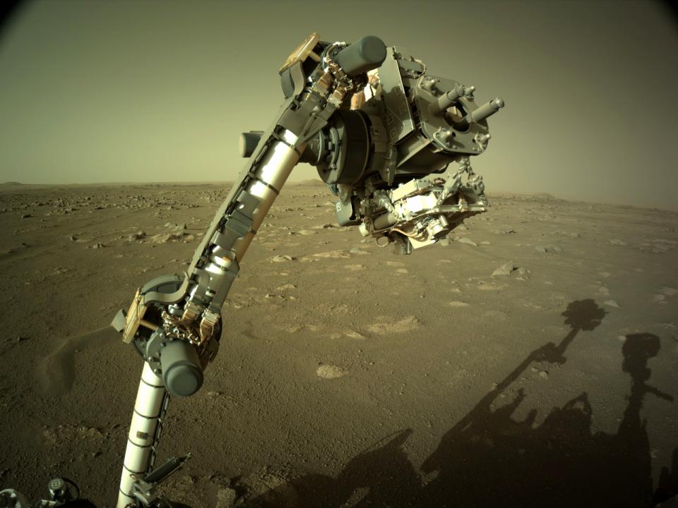 NASA: Το Perseverance συνέλλεξε το πρώτο πέτρινο δείγμα από τον Άρη