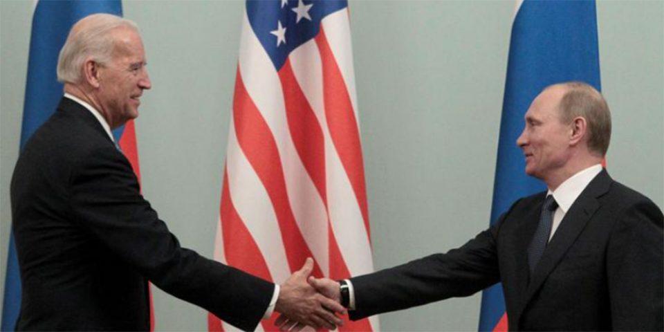 Στη Γενεύη στις 15-16 Ιουνίου η συνάντηση Μπάιντεν - Πούτιν