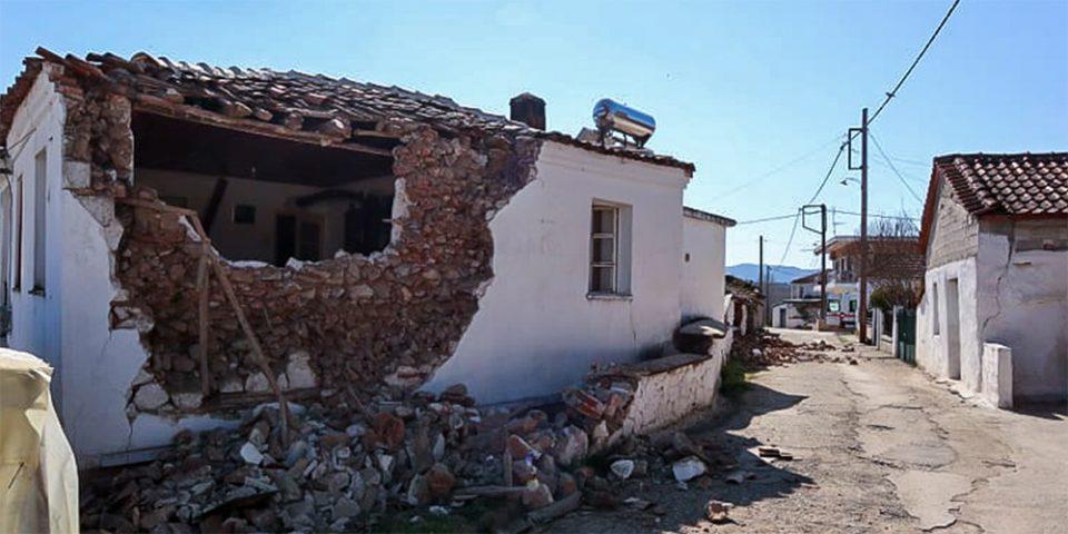 Σεισμός στην Ελασσόνα: Μη κατοικήσιμα 1.424 σπίτια στη Θεσσαλία