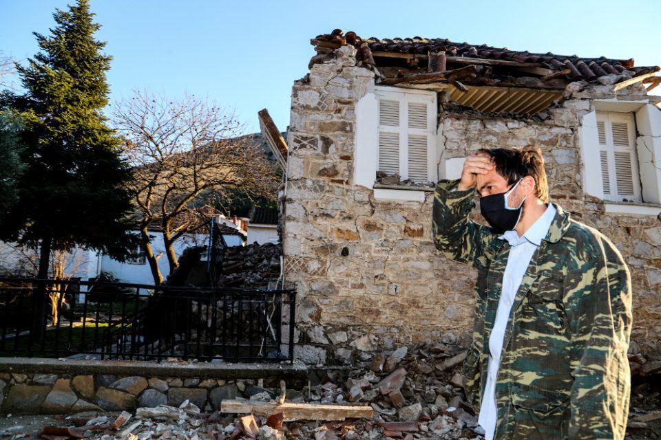 Σεισμός στην Ελασσόνα - Πέτσας: Τη Δευτέρα κατατίθενται 300.000 ευρώ σε κάθε σεισμόπληκτο δήμο
