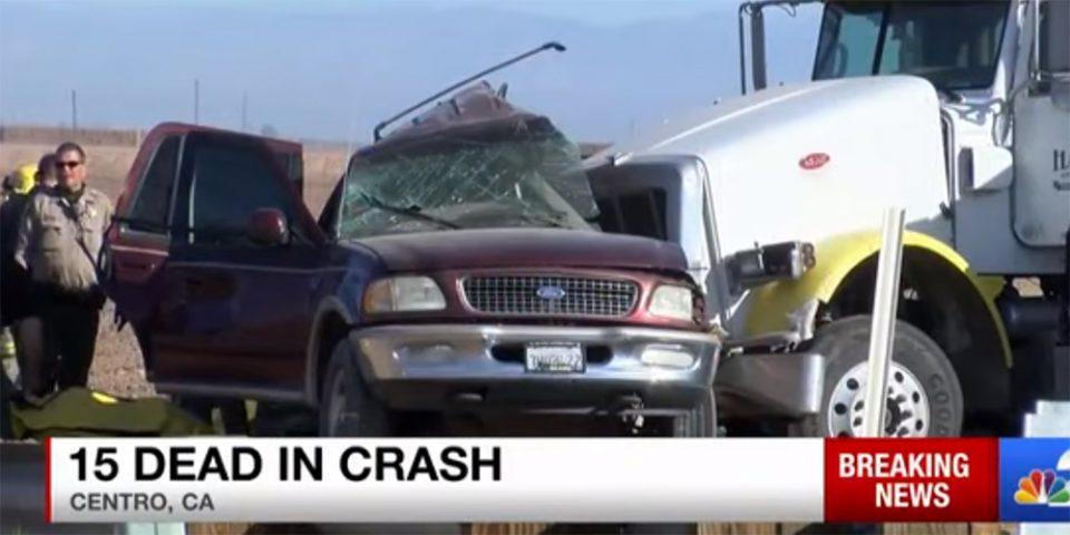Καλιφόρνια: Τουλάχιστον 15 νεκροί από σύγκρουση SUV με φορτηγό που κουβαλούσε χαλίκι [βίντεο]