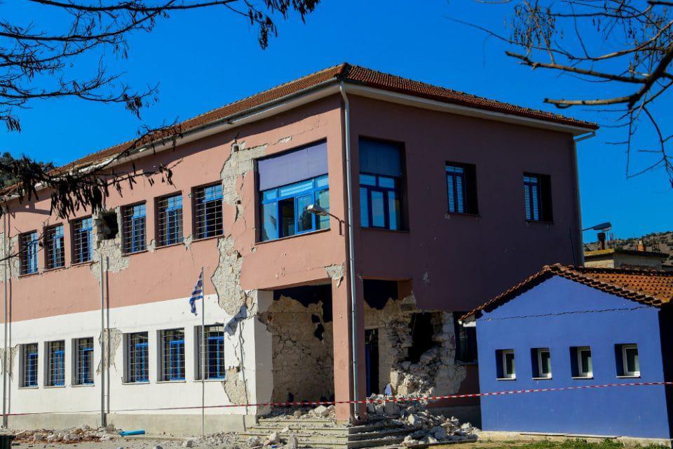 Λάρισα: Δεν θα λειτουργήσουν ούτε με τηλεκπαίδευση τα σχολεία που είναι κλειστά λόγω του σεισμού