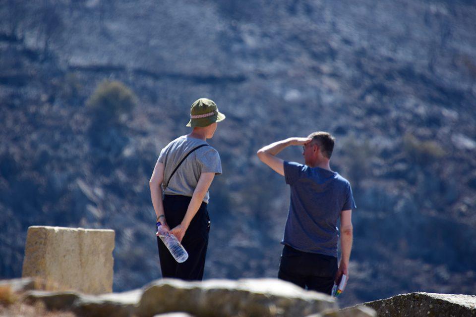 Χαρδαλιάς τουρίστες