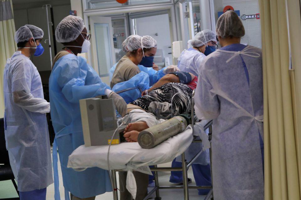 Βραζιλία: 1.480 θάνατοι και σχεδόν 36.000 κρούσματα σε 24 ώρες